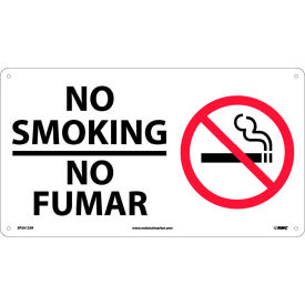 SPSA124R Bilingual Plastic Sign - No Smoking