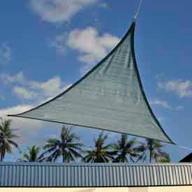 25733 12 Foot Triangle ShadeSail - Sea