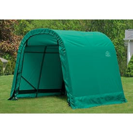 8x16x8 round style shelter - green 8x16x8 Round Style Shelter - Green
