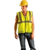 ECO-GC-YL/XL Value Mesh Standard Vest, Hi-Vis Yellow, L/XL