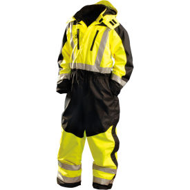 occunomix speed collection premium cold weather coverall hi-viz yellow, large, sp-cvl-byl OccuNomix Speed Collection Premium Cold Weather Coverall Hi-Viz Yellow, Large, SP-CVL-BYL