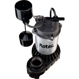 flotec submersible cast iron and zinc sump pump 1/2 hp Flotec Submersible Cast Iron and Zinc Sump Pump 1/2 HP