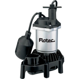 FPZS25T Flotec Submersible Thermoplastic Sump Pump 1/4 HP