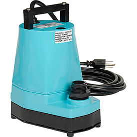 5-MSP Little Giant 505000 5-MSP Submersible Utility Pump with 10 Cord