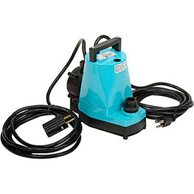 5-ASP Little Giant 505300 Submersible Automatic Utility Pump with Diaphragm Switch