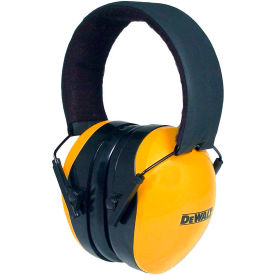 dewalt® dpg62-c interceptor™ folding earmuff folding, nrr 29db, yellow/black DeWALT® DPG62-C Interceptor™ Folding Earmuff Folding, NRR 29dB, Yellow/Black