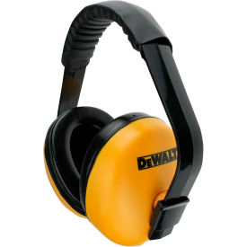 dewalt® dpg64hc interrupter™ earmuff, nrr 23db, yellow/black DeWALT® DPG64HC Interrupter™ Earmuff, NRR 23dB, Yellow/Black