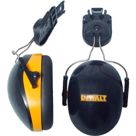 dewalt® dpg66-d interceptor™ cap mount earmuff, nrr 26db, yellow/black DeWALT® DPG66-D Interceptor™ Cap Mount Earmuff, NRR 26dB, Yellow/Black