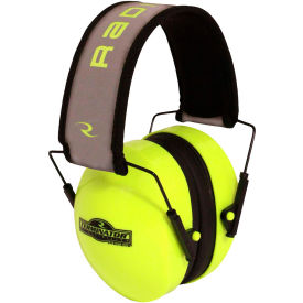 radians® tr0hvg-bx terminator™ folding ear muff, high-vis lime Radians® TR0HVG-BX Terminator™ Folding Ear Muff, High-Vis Lime