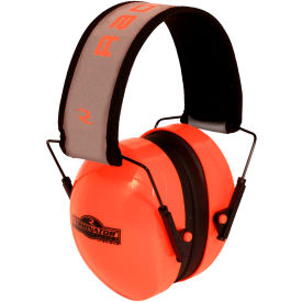 radians® tr0hvo-bx terminator™ folding ear muff, high-vis orange Radians® TR0HVO-BX Terminator™ Folding Ear Muff, High-Vis Orange