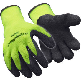 hivis™ ergogrip glove, hivis lime-yellow - large Hivis™ Ergogrip Glove, Hivis Lime-Yellow - Large