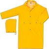 200CX2 MCR Safety 200CX2 Classic Rain Coat, 2X-Large, .35mm, PVC/Polyester, Detachable Hood, Yellow