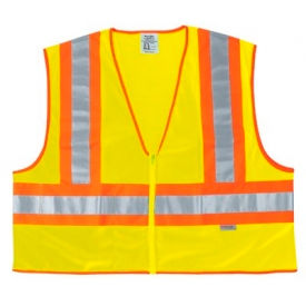 WCCL2LL Luminator; Class II Safety Vests, RIVER CITY WCCL2LL, Size L