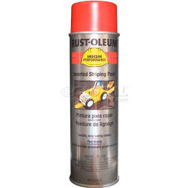 2364838 Rust-Oleum 2300 System Inverted Striping Paint Aerosol, Red