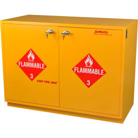 "28 gallon, under-the-counter flammable cabinet, manual close, 29""w x 22""d x 35-1/2""h 28 Gallon, Under-the-Counter Flammable Cabinet, Manual Close, 29""W x 22""D x 35-1/2""H"