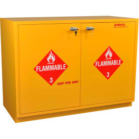 "32 gallon, under-the-counter flammable cabinet, self-closing, 35""w x 22""d x 35-1/2""h 32 Gallon, Under-the-Counter Flammable Cabinet, Self-Closing, 35""W x 22""D x 35-1/2""H"
