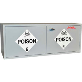 "16 gallon, stak-a-cab™ poison cabinet, 47""w x 18""d x 18""h 16 Gallon, Stak-a-Cab™ Poison Cabinet, 47""W x 18""D x 18""H"