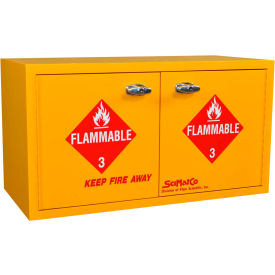 "36 gallon, mobile ada flammable cabinet, 34""w x 22""d x 26-1/2""h 36 Gallon, Mobile ADA Flammable Cabinet, 34""W x 22""D x 26-1/2""H"