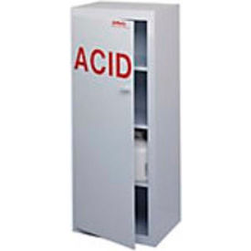 "50x2.5 liter, polypropylene acid cabinet, right hinge, 24""w x 18-1/2""d x 60""h 50x2.5 Liter, Polypropylene Acid Cabinet, Right Hinge, 24""W x 18-1/2""D x 60""H"