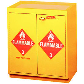 "32 gallon, floor flammable cabinet w/top tray, 31""w x 20""d x 36-5/8""h 32 Gallon, Floor Flammable Cabinet w/Top Tray, 31""W x 20""D x 36-5/8""H"