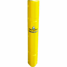"corner sentry™ corner protector, covers 4"" x 4"" of corner, 42""h, yellow Corner Sentry™ Corner Protector, Covers 4"" x 4"" of Corner, 42""H, Yellow"