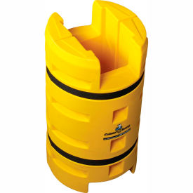 "column sentry® column protector, 12""x 12"" square opening with fe cutout, 24""o.d. x 42""h yellow Column Sentry® Column Protector, 12""x 12"" Square Opening with FE Cutout, 24""O.D. x 42""H Yellow"