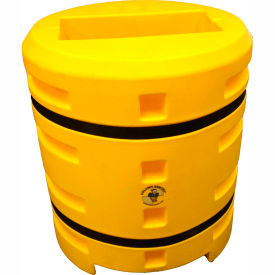 "column sentry® column protector, 12""x 24"" rectangle opening, 38"" o.d. x 42""h, yellow Column Sentry® Column Protector, 12""x 24"" Rectangle Opening, 38"" O.D. x 42""H, Yellow"