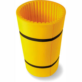 "concrete wrap™ column protector for 24"" dia. concrete columns, 44""w x 42""h, yellow Concrete Wrap™ Column Protector For 24"" Dia. Concrete Columns, 44""W x 42""H, Yellow"