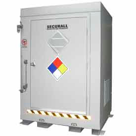"securall® 5w x 3 6""d x 6 11""h agri-chemical storage building 2 drum Securall® 5W x 3 6""D x 6 11""H Agri-Chemical Storage Building 2 Drum"