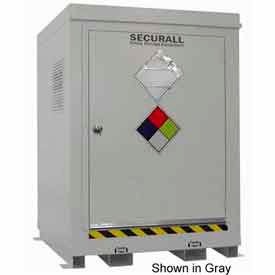 "securall® 5w x 5d x 6 11"" agri-chemical storage building 4 drum Securall® 5W x 5D x 6 11"" Agri-Chemical Storage Building 4 Drum"