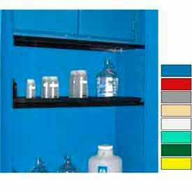 "securall® extra shelf for cabinets 24"" wide blue Securall® Extra Shelf for Cabinets 24"" Wide Blue"
