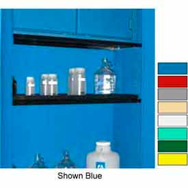 "securall® extra shelf for cabinets 43"" wide, yellow Securall® Extra Shelf for Cabinets 43"" Wide, Yellow"