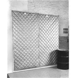"singer safety sc124-6 qfm double faced quilted wall panel, 4w x 6h x 2"" thick Singer Safety SC124-6 QFM Double Faced Quilted Wall Panel, 4W x 6H x 2"" Thick"