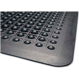"genuine joe flex step anti fatigue mat 3/8"" thick 2 x 3 black Genuine Joe Flex Step Anti Fatigue Mat 3/8"" Thick 2 x 3 Black"