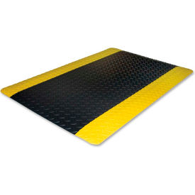 "genuine joe safe step anti fatigue mat 9/16"" thick 3 x 5 black Genuine Joe Safe Step Anti Fatigue Mat 9/16"" Thick 3 x 5 Black"