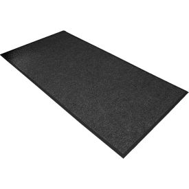 "136S0048CH NoTrax Polynib 3/8"" Thick Entrance Floor Mat, 4 x 8 Charcoal"