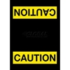 194SCA46BL NoTrax; Safety Message Mat 194 Caution 4x6 - Black