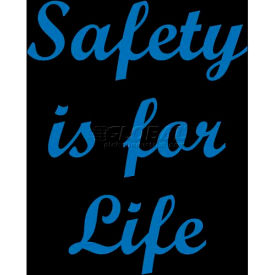"notrax® safety is for life safety message mat 3/8"" thick 4 x 6 black NoTrax® Safety Is For Life Safety Message Mat 3/8"" Thick 4 x 6 Black"