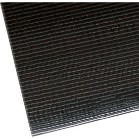 "406S0035BL NoTrax Razorback 1/2"" Thick Safety-Anti-Fatigue Floor Mat, 3 x 5 Black"