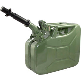 wavian jerry can w/spout & spout adapter, green, 10 liter/2.64 gallon capacity - 3014 Wavian Jerry Can w/Spout & Spout Adapter, Green, 10 Liter/2.64 Gallon Capacity - 3014