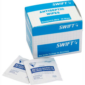150910 North; by Honeywell 150910, Antiseptic Wipes, 20 Per Box