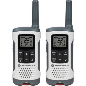 T260 Motorola Talkabout ; T260 Rechargeable Two-Way Radios,White - 2 Pack