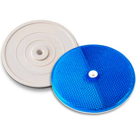 "102225 Tapco; 102225 3-1/4"" Blue Centermount Reflector, Plastic Backplate, RT-90B"