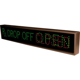 "tapco 132490 rx drop off|open|closed, 42"" x 7"" x 2.5"", green/red led sign Tapco 132490 RX Drop Off