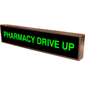 "tapco 132504 pharmacy drive up, 34"" x 7"" x 2.25"", green, led sign Tapco 132504 Pharmacy Drive Up, 34"" x 7"" x 2.25"", Green, LED Sign"