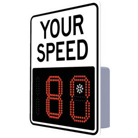 "tapco 138891 ev 12"" radar feedback sign, your speed, white hip face, 23"" x 29"" Tapco 138891 EV 12"" Radar Feedback Sign, Your Speed, White Hip Face, 23"" x 29"""