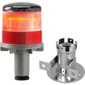 3337-00001 Tapco; 3337-00001 Solar Powered LED Strobe Lights, Red Bulb