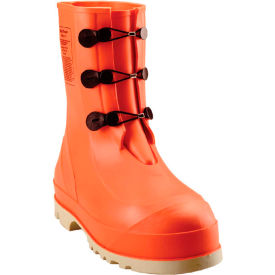 82330.11 Tingley; 82330 HazProof; Steel Toe Boots, Orange/Cream, Sure Grip Outsole, Size 11