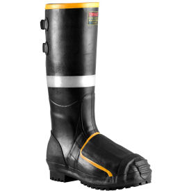 MB816B.11 Tingley; MB816B Metatarsal Steel Toe Boots, Black Steel Midsole, Size 11