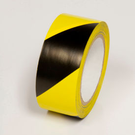 "WT2140 Hazard Marking Tape, Yellow/Black Stripes, 4""W x 108L Roll, WT2140"